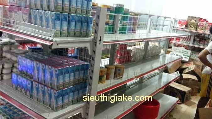 lắp đặt kệ siêu thị tại điền lư bá thước
