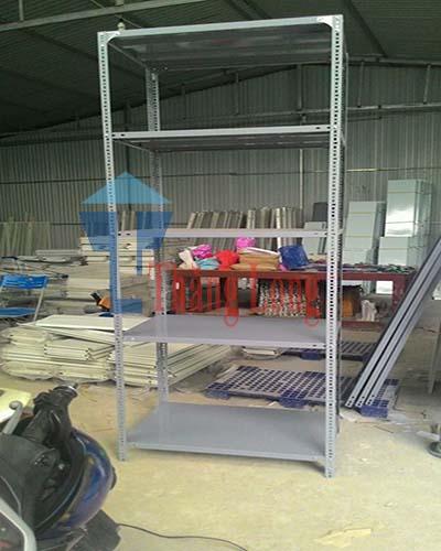 Lắp đặt kệ kho hàng công ty cao su camel Hướng Hóa Quảng Trị