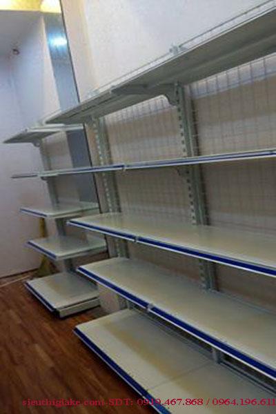 Kệ đơn siêu thị KT H1800*W1200*D430