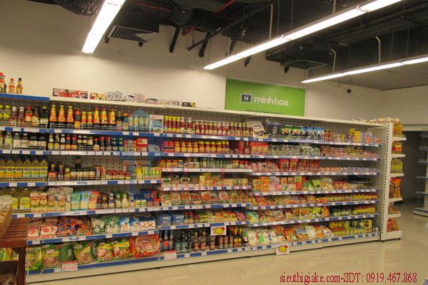Lắp đặt kệ siêu thị kệ kho hàng tại các tỉnh