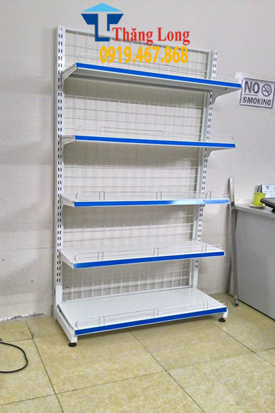 Kệ đơn siêu thị H1800*W700*D350