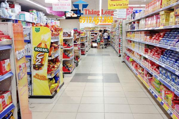 Kệ siêu thị bày hàng Thái Lan