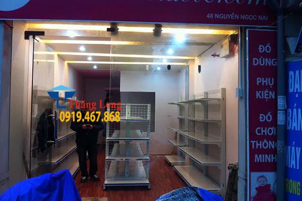 Kệ siêu thị Bắc Linh Đàm