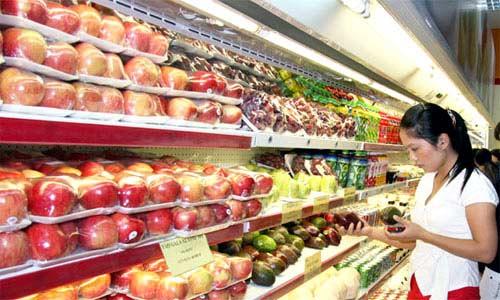 Kệ hoa quả do công ty Thăng Long cung ứng luôn là sự lựa chọn thông minh cho các cửa hàng