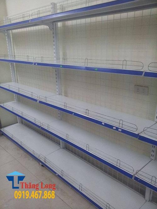 Kệ đơn áp tường cho siêu thị, cửa hàng