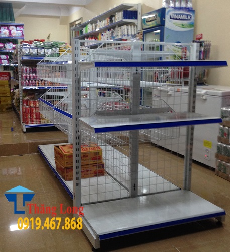 Kinh nghiệm chọn mua bộ kệ siêu thị chất lượng