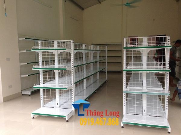 Lắp đặt giá kệ siêu thị tại Bắc Giang