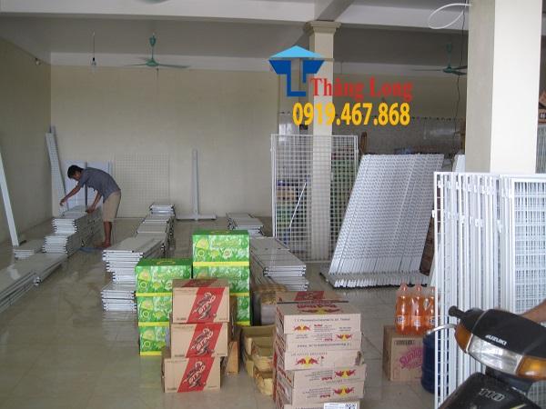 Lắp đặt giá kệ siêu thị tại Thanh Hóa