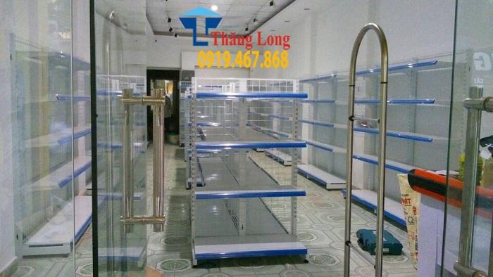 Thiết kế siêu thị mỹ phẩm nhập khẩu chị Hà - Bát Tràng