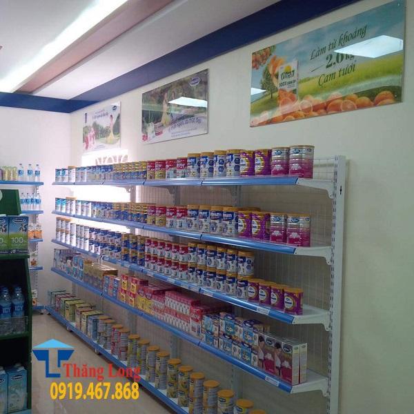 Tư vấn thiết kế và setup hệ thống cửa hàng sữa vinamilk