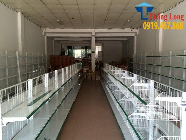 Setup và lắp đặt kệ siêu thị tại Lào Cai