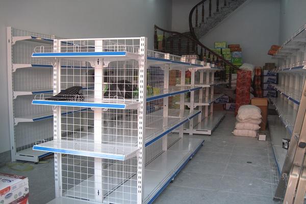 Thiết kế và lắp đặt giá kệ siêu thị tại Cao Bằng
