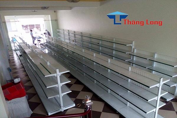 Thiết kế và lắp đặt kệ siêu thị tại Quảng Bình