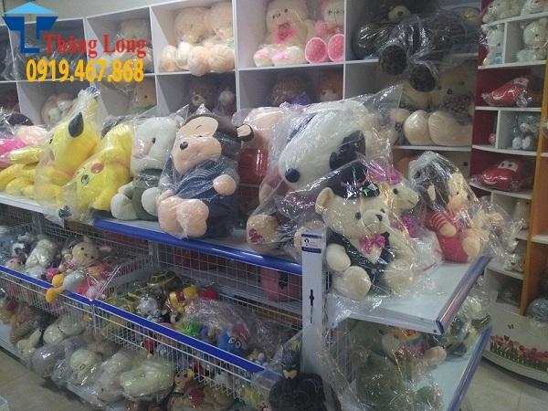 Thiết kế và lắp đặt giá kệ siêu thị cho nhà sách Việt Lý tại Thanh Hóa