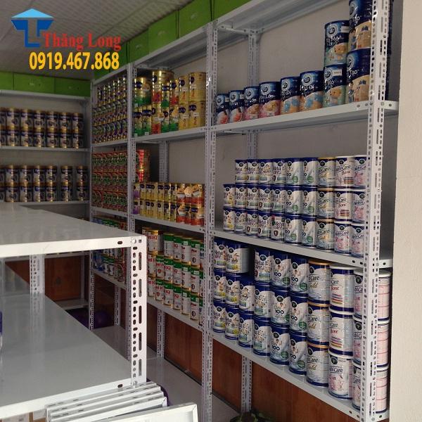 Setup hoàn chỉnh giá kệ để bỉm sữa tại Hà Tĩnh