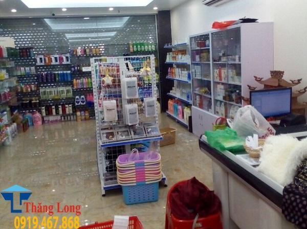Lắp đặt giá kệ siêu thị tại Nghĩa Đô Cầu Giấy