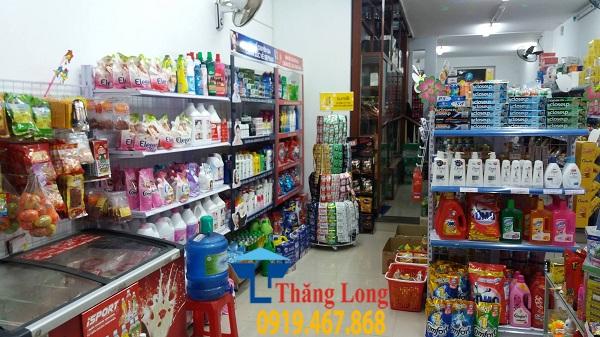 Cung cấp và lắp đặt kệ bày hàng tạp hóa tại Thái Bình