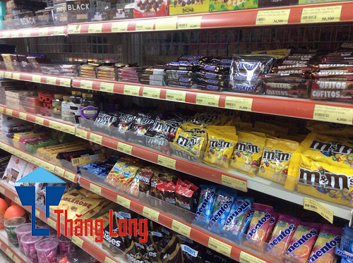 Kệ siêu thị để hàng bánh kẹo