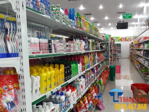 Lắp đặt giá kệ siêu thị mini tại Sơn la
