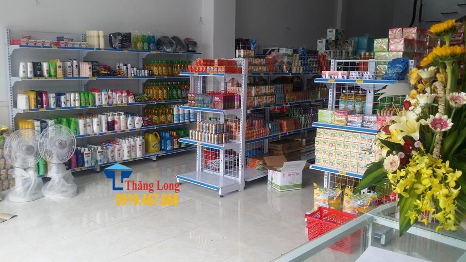 Lắp đặt giá kệ siêu thị tại Quảng Trạch, Quảng Bình