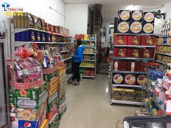 Giá kệ bày hàng tết chất lượng tại Thăng Long